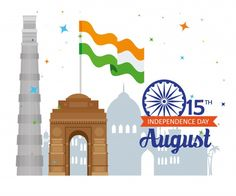Happy Independence Day Messages, Happy Independence Day Images, Independence Day Poster, Independence Day Special, Indian Independence Day, Happy 15 August, Famous Monuments, Freedom Day, Good Night Blessings