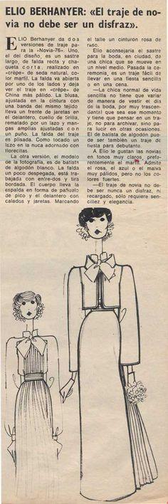 """Elio Berhanyer """"El vestido de novia no ha de ser un disfraz"""" #Innovias filosofía. #Alquiler #renta #vestidos #novia"""