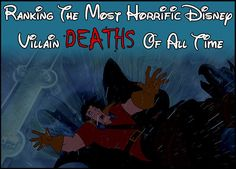 A Definitive Ranking Of The Most Horrific Disney Villain Deaths----yeah Boogies death always got to me especially since my bros would constantly tease me about it because we watched the movie every year for Halloween and Christmas :/