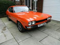 """""""The car you always promised yourself"""" Ford Capri, Ford Motor Company, Mk1, Colorful Interiors, Luxury Cars, Super Cars, Classic Cars, Auction, British"""