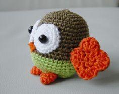 Amigurumi Crochet Pattern - Baby Owl