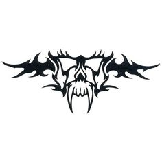 lower back tat imma get with my besty Evil Skull Tattoo, Skull Tattoos, Cool Tattoos, Awesome Tattoos, Tatoos, Back Tats, Cool Stencils, Picture Tattoos, Tattoo Designs
