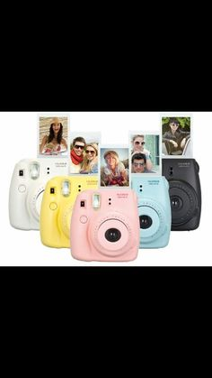 Fujifilm Instax Mini 8 Instant Camera - I want either the turquoise or blue please and thank you!