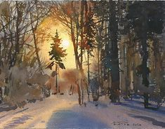 "Check out new work on my @Behance portfolio: ""A few watercolor lessons with ""а contre jour"""" http://be.net/gallery/62303113/A-few-watercolor-lessons-with-a-contre-jour"