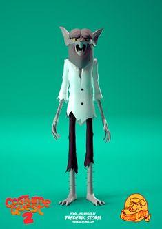 ArtStation - Wolf - Costume Quest 2, Frederik Storm
