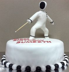 fencing birthday cakes - Google Search