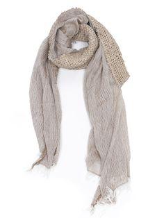 CUTULICULT beige volpego scarf Scarfs, Belts, Collars, Branding Design, Luxury Fashion, Elegant, Shopping, Women, Style