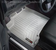 WeatherTech Custom Fit Front FloorLiner for Dodge Ram Grey ** You can get additional details at the image link.