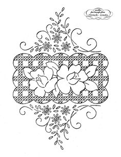 Free Hand Embroidery Flowers Patterns | Do we ever get tired of stitching flowers, especially daisies? I think ...