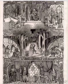 Rumpelstiltskin, Large FAriy tale iklustration, Done in Pencil. Ranging From - and all the in between Rumpelstiltskin Fariy Tale, Rumpelstiltskin, Fairy, Deviantart, Abstract, Artwork, Painting, Summary, Work Of Art