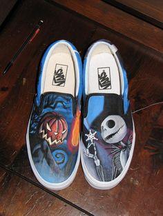 Custom Painted Vans