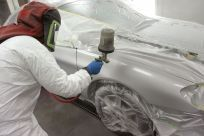 I've always wanted to see how they paint cars. I never could figure out how they made it look so good. I'd love to watch my car get painted!  http://www.bnecollision.com.au