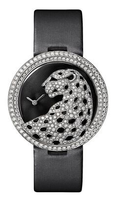 Cartier Panthere  Watch  brooch  diamond panther
