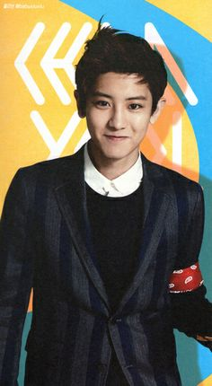 HQ [scans] EXO's 2014 Official calendar - Chanyeol