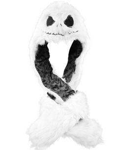 Soo I saw this hat today...It's at Spencers in the mall. Nightmare Before Christmas – Jack Head Plush Hat