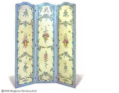 "Jane Kelter Collection French Screen 81""H - each panel 19""W F0810"