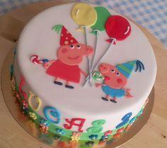Bueno, bueno, bueno... aquí estamos de nuevo con una tarta de Peppa, esa cerdita que hace bien poco no sabíamos ni que existía.     Últimam...