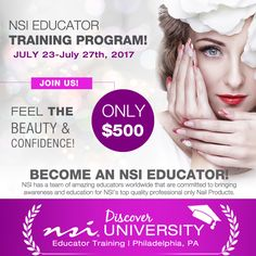 Become an Educator for NSI Nails! Apply Today!