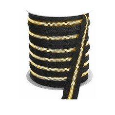 #5 Brass Continuous Zipper 1.95per foot