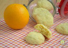Biscotti morbidi all arancia senza uova