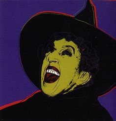 """Andy Warhol  """"Witch, Myths Suite II.261""""  Limited Edition Print  Screenprint  38 x 38 in / 97 x 97 cm  POR"""