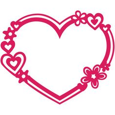 Welcome to the Silhouette Design Store, your source for craft machine cut files, fonts, SVGs, and other digital content for use with the Silhouette CAMEO® and other electronic cutting machines. Valentines Frames, Love Valentines, Silhouette Cameo Projects, Silhouette Design, Frame Wall Collage, Stencils, Valentine Images, Wood Burning Patterns, Cricut Creations
