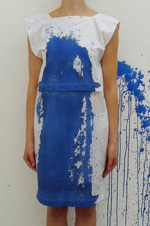 paint splatter dress. OMG This would be just so fun to do!! @melissakolb Summer fun?!? :P