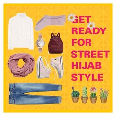 """Street Hijab Style"" by carolinaang on Polyvore featuring Valentino, MANGO, Madewell, Olivia Burton, STELLA McCARTNEY, Frame, converse, hijabstyle, boyfriendsjeans and imthankfulfor"