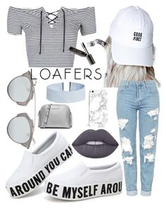 """Loafers 2"" by omg-imafashionista on Polyvore featuring CRSHR, Lime Crime, Topshop, Christian Dior, Bobbi Brown Cosmetics, ASOS and MICHAEL Michael Kors"