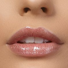 Veganer Lipgloss von exurbe cosmetics Aloe Vera, Long Lasting Lip Gloss, Lipgloss, Lip Shine, Avocado Oil, Name Signs, Your Lips, Holographic, Lust