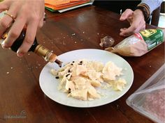 "In Chunks with Traditional Balsamico - ""How to Eat Parmesan Like an Italian"" by @Cristina @Cristina @thetravolution"