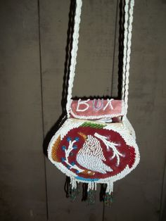 Micmac Beaded Bag  at Picker's Playground!  110 East Union Street, Waupaca, WI 715-258-3865