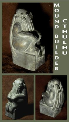 H.P. Lovecraft - Mound Builder Cthulhu by zombiequadrille on deviantART