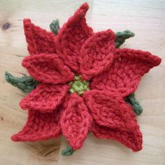 Poinsettias Crochet Pattern