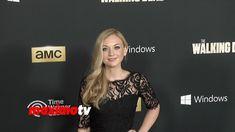 """Emily Kinney """"The Walking Dead"""" Season 4 PREMIERE Red Carpet Arrivals"""