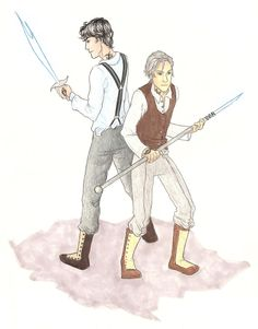 Parabatai - Jem and Will by achelseabee.deviantart.com on @deviantART
