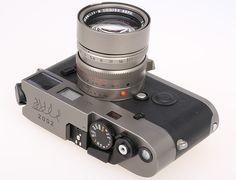 """M7 """"Handmade titanium camera"""" Prototype"""