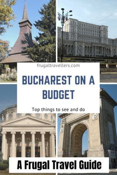 How to travel Bucharest on a budget. The ultimate budget guide to Bucharest. What to see and do in Bucharest for free or very little money. Travel Advice, Travel Guides, Travel Tips, Cheap Travel, Budget Travel, Luxury Travel, Travel Usa, Bucharest, Best Places To Travel
