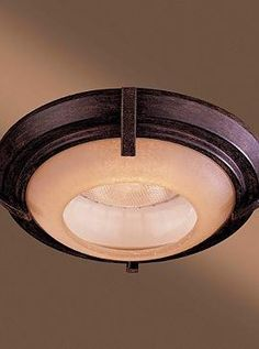 """Stylishly accent a flush mounted light with the handsome Raiden Iron Oxide 6"""" Recessed Trim Light that turns a basic light fixture into a beautiful design element."""
