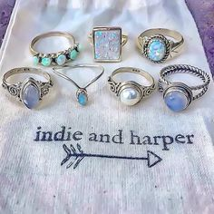 Pretty little things ♥️ All available at www.indieandharper.com
