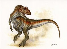Another Allosaur by Himmapaan on deviantART