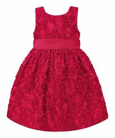 Red Dress for Toddler & Girls.