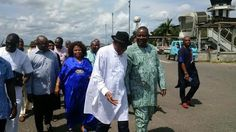 WELCOME TO OSASBLOG: Photos: Former President Jonathan and wife, Patien...