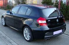 Black BMW E87 4