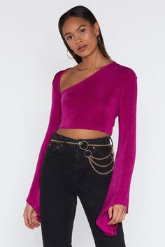 4fc23b3da4923 14 Best Bell sleeve crop top images in 2019 | Blouse designs, Chic ...