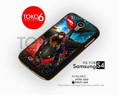 AJ 4163 How to train your dragon Hiccup and Toothless - Samsung Galaxy S IV Case | toko6 - Accessories on ArtFire