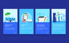 Onboarding Screens – User interface by Murat Gürsoy