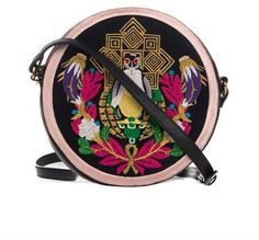 Pin for Later: Fabulous Fashion Accessories That Make Gorgeous Gifts  Mary Katrantzou Pigeon Badge Circle Cross-Body Bag (£552)