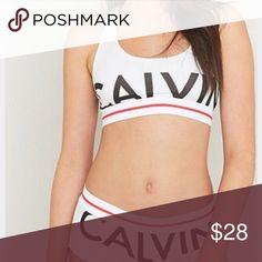 {Calvin Klein} modern bralette Most comfortable bra. Ever. New with tags. Calvin Klein Intimates & Sleepwear Bras