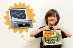 Chalkboard lunchbox | 37 Awesome DIYs To Make Before School Starts